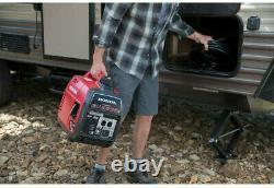 Honda 2200 W-super Silencieux Gaz Portable Powered Inverter Generator Accueil Rv Camping