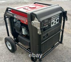 Honda Eb5000i 5000 Watt Portable Quiet Onduleur Générateur D'énergie À Faible Hr