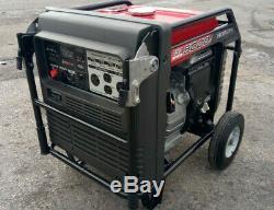 Honda Eb5000i 5000 Watt Silencieux Portable Power Inverter Parallèle Gaz Générateur