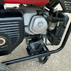Honda Eg6500cl Groupe Électrogène Portable Davr Gaz Puissance Camping Vr Eg6500 Withwheels