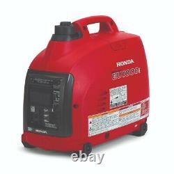 Honda Eu1000i 1000w 120v Portable Home Gas Power Generator Avec Co-miner