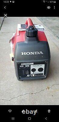 Honda Eu2000i Portable Gas Powered Generator Onduleur Companion Excellent 30amp
