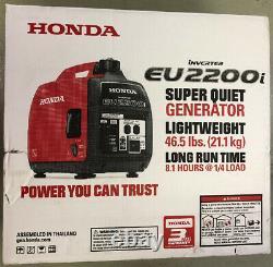 Honda Eu2200i 2200 Watts Super Gaz Silencieux Générateur Inverter Portable Powered