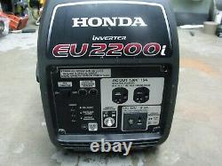 Honda Eu2200i 2200-watt Super Quiet Gas Powered Générateur D'onduleur Portable
