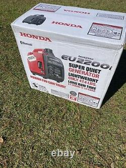 Honda Eu2200i 2200-watts Générateur D'onduleur Portable Portable Portateur Bluetooth