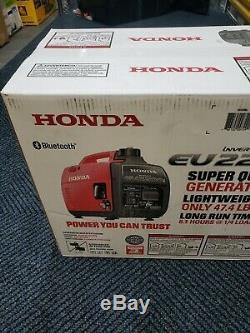 Honda Eu2200i 2200w Gas Powered Générateur Inverter Portable Avec Bluetooth Nouveau