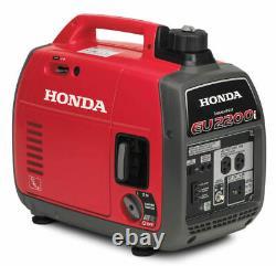 Honda Eu2200i 2200w Motorisé À Essence Générateur Inverter Portable Seulement Ided 3 Fois