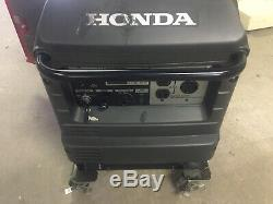 Honda Eu3000is Quiet Portable Onduleur Générateur Parallèle Gaz Puissance Euc Lowhours