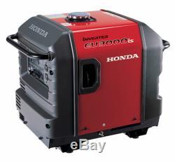 Honda Eu3000is Quiet Portable Onduleur Générateur Parallèle Puissance Gaz Eu3000is1a