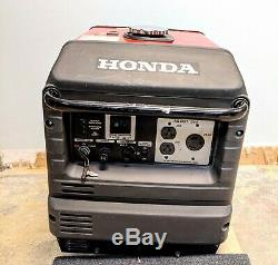 Honda Eu3000is Quiet Portable Onduleur Générateur Parallèle Puissance Gaz Read