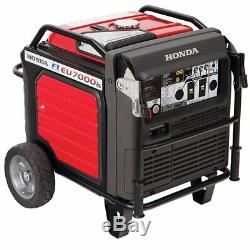 Honda Eu7000is 7000 Watt Portable Silencieux Onduleur Gaz Générateur D'énergie Camping Rv