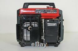 Honda Ex1000 Gaz Générateur À 1000 Watts 120v Avec Dust Cover Mint Condition