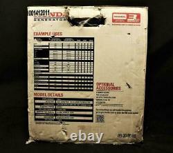 Honda Power Equipment Eb3000c 3000w Gaz Portable Powered Générateur Industriel