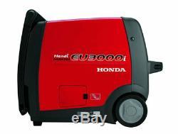Honda Power Equipment Eu3000i 120v 3000w Onduleur Handi Portable Générateur De Gaz