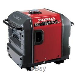 Honda Power Equipment Eu3000is 3000w 120v Portable Home Gaz Générateur D'énergie