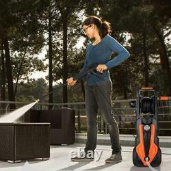 Hordox 3800 Psi Laveur Électrique De Pression 3.0gpm 2000w Nettoyeur Portable Nouveau
