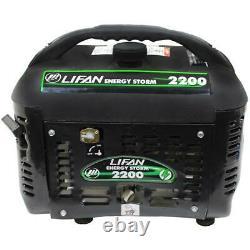 Lifan Energy Storm 2200-w Calme Portable Gas Powered Generator Home Rv Camping