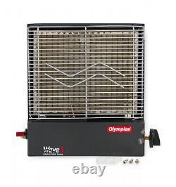 Lp Gaz Catalytique De Sécurité Chauffage 3000 Btu Autonome Portatif Propane Rv Wave-3