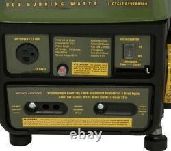 Meilleur Portable Generator Oil Gas MIX Quiet Accueil Rv Camping Alimentation De Petits Appareils Ménagers