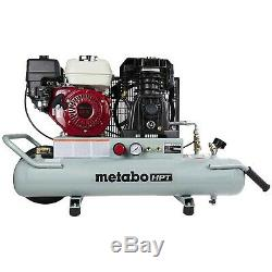 Metabo Hpt Gas 8 Gallons Powered Brouette Compresseur D'air