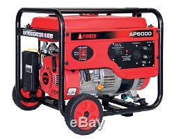 Miami A-ramassage Ipower Ap5000 5000 Watts Gaz Alimenté Générateur Portable