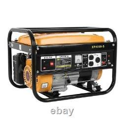 Moteur De Générateur D'essence Portable Alimenté Au Gaz 4000w Pour Le Camping Rv