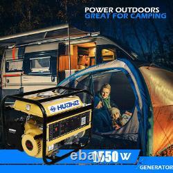 Moteur De Générateur D'essence Portatif Alimenté Au Gaz De 1200w Pour La Maison De Camping De Camping De Rv De Chantier