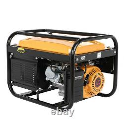 Moteur De Générateur De Gaz Portable De 4000 Watt Pour Le Camping Et La Fête De L'emploi