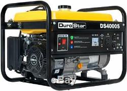 Nouveau Durostar Portable Generator Ds4000s Gas Powered 4000 Watt Rv Camping Veille