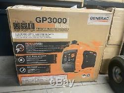Nouveau Generac Gp3000i 3000 Watts Gas Powered Recoil De Démarrage Onduleur Générateur