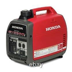 Nouveau Honda Eu2200i Portable Gas Powered Generator Inverter (in Stock) Ship To Pr