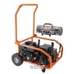 Nouveau Ridgid 8 Gal. Gaz Portable Puissance Zero Gravity Compresseur D'air M # Gp80150rtb