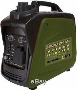 Nouveau Sportsman Inverter Portable Gas Powered Générateur 1000w 4 Temps Ohv