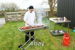 Nouvelle Surface De Cuisson Ex-large De Barbecue Au Gaz Propane Pliable Robuste