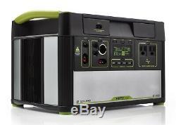 Objectif Zéro Yeti 1000 Lithium Power Station Portable, Gaz Générateur Alternatif