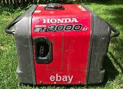 Onduleur De Générateur À Gaz Portable Honda Eu3000is