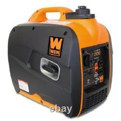 Onduleur Générateur Portable 2000 Watts Gas Power New Wen Quiet Tool Électrique