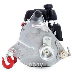 Pcw5000 Portable Gas Powered Winch 2200lb Traction De Puissance Actionnée Par Gxh50 Honda