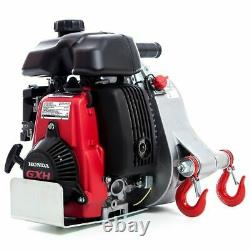 Pcw5000 Portable Gas-powered Pulling Winch 2200lb/1000kg Avec Honda Gxh50 Moteur