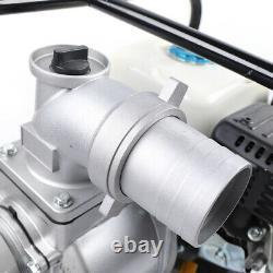 Pompe À Eau À Essence, 7,5 HP 210cc 3 Pompe À Eau À Semi-réservoir À Gaz Portable