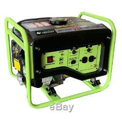 Portable Générateur Double Carburant Du Gaz Propane À Faible Puissance Huile Camping Arrêt Automatique