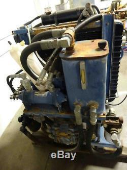 Portable Hydraulique Unité, Gaz Moteur V8 Cadillac Powered, Avec Pompes Rexroth