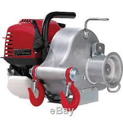 Portable Winch Gas-powered Cabestan Winch Modèle Pcw3000