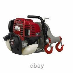 Portable Winch Pcw 3000 Gas Powered Zugwinde Max. Zugkraft 700kg Avec Corde De 50m