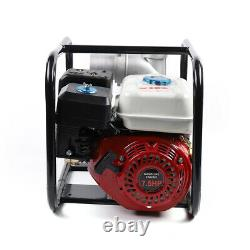 Portatif 7.5hp Gas Powered Water Pump Flood Irrigation Water Transfer 4 Stroke