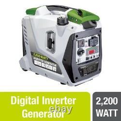 Powersmith Portable 2200 Watt 1 Gallon Générateur D'onduleur De Puissance De Gaz (utilisé)