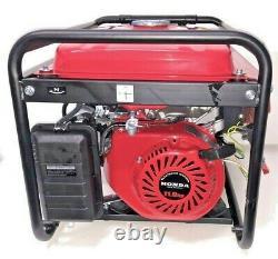 Puissant Quiet Honda Generator Home & Camping Portable Gas Backup Standby