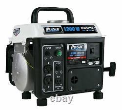 Pulsar 1200 Watt Générateur Portable Maison Générateurs De Secours Alimentés Au Gaz