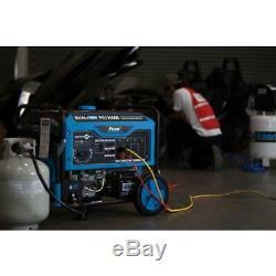 Pulsar 12 000 Watts À Deux Gaz Combustible Fonctionnant Démarrage Du Générateur Électrique Avec Roue Kit