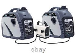 Pulsar 2300 Watts De Pointe/1800 Watts De Fonctionnement Portable Gas-powered Quiet Inverter Ge